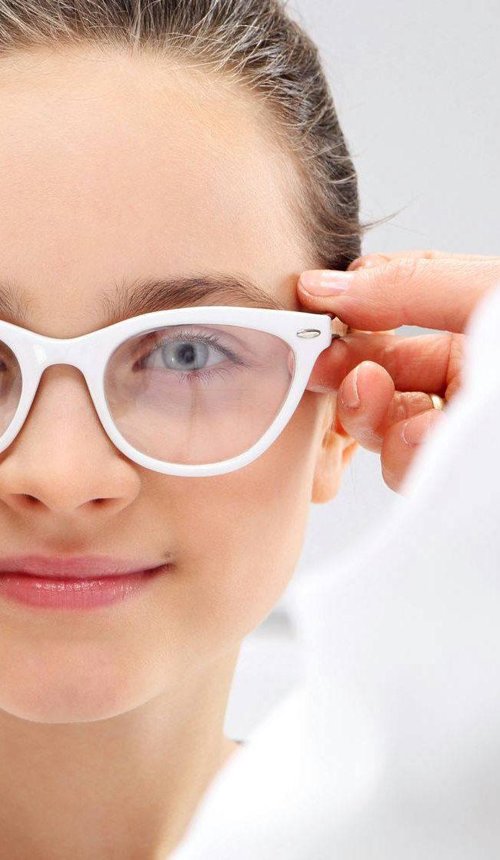 Der richtige Sitz der Kinderbrille …